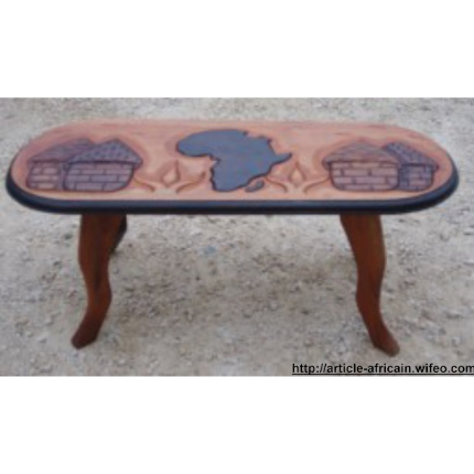 TABLES BASSES AFRICAINES